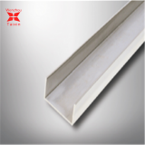 Low Price hot rolled 304 stainless steel C channel bar profile