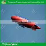 Hot newly promotional kids house shape commercial pvc inflatable airship advertising balloon inflatable