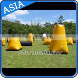 Inflatable Paintball Obstacle For Cs Game / Inflatable Paintball Barries