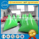 Customized paintball wall obstacle inflatable laser tag with great price