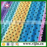 tricot knit spandex digital printing swimsuit fabric factory whosale with superior quality