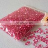 Pink 4.5mm Acrylic Diamond Confetti for Wedding Decoration Table Scatters