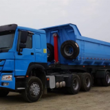 China Factory made 3 axle tipper semitrailer
