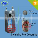 Water cold condenser for Water Source Hot Pump