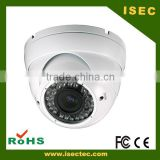 High definition analog camera 30 m ir distance waterproof outdoor dome ahd cctv camera 1080P