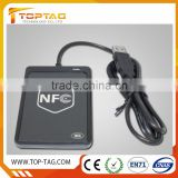 RFID reader price waterproof RFID credit card Reader/smart card reader for rfid door lock access