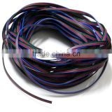 4 Color 10m RGB Extension Cable Line for LED Strip RGB 5050 Cord 4pin