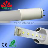 2015 hot sale high lumen g13 base 2825smd 4ft t8 18w general electric led tube light with CE RoHs
