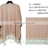 fashion women poncho yiwu custom made brand plain pashmina shawl scarf scarves wholesale