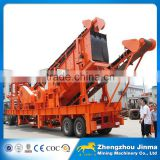 Small Scale Mobile Stone Crushing And Screening Plant