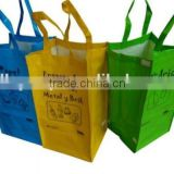 30 x 40 x 30cm PP woven hook and loop garbage Bag