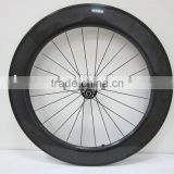 700C full carbon tubular wheels rims 80mm