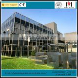 glazed aluminum curtain wall for building with all accessories/one-stop curtain wall solution DS-LP1098