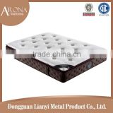2015 healthy pillow top exercise mattress/mattress plastic spring mattress bed for sale