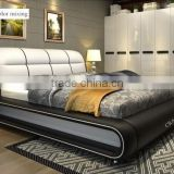 pu leather bed frame, turkish wedding bedroom bad room furniture design