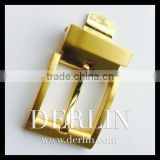 Matt Gold Shiny Gold Polished Luxury Quality Designer Single bar slide bar Metal Belt Buckle