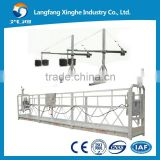 cleaning equipment building glass / cradle / swing stage / suspended platform / gondola