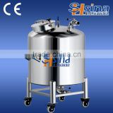 Soybean oil storage tank, vacuum stainless steel storage containers, industrial tank for sale