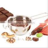 Stainless Steel Chocolate Melting Pot bowl Baking Pastry Tools
