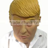 New Halloween Party Cosplay America president candidate Donald Trump latex rubber Mask