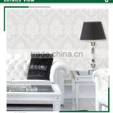 affordable foaming non woven wallpaper, royal bold floral wall decal for dressing room ,ladies shop decoration design