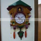 2014 Plastic Cheap the time co cuckoo wall clock