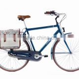 "2016 Hot sell 28"" 3SPD Aluminium alloy fresh convenient city travel with traveling bag bike city bicycle"