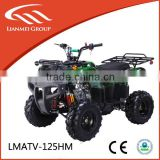 gas powered atv by electric starter 125cc engine very popular in 2014
