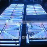 wholesale stage/ disco glass pvc material dmx portable led dance floor led for sale                                                                         Quality Choice