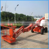 Mobile hydraulic telescoping elevator platform,self propelled hydraulic work platforms,aerial work platform price for cheap
