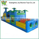 bounce house inflatable obstacle course jungle inflatable obstacle combo