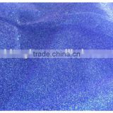 organza color dark blue with glitter silver nacred laser