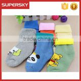 V-268 Extra thick knitting soft colorful cute infant socks cute boot cuffs