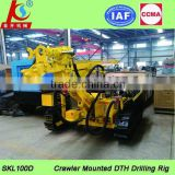 Electric engine! SKL100D rock drilling machine with compressor