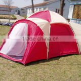 3 Room 6 Person Extra Large Family Camping Tent
