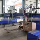 Economic 3mX10m Gantry Type CNC Plasma and Gas / Flame Cutting Machine for Stainless Steel