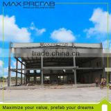 H Steel Sheet sandwich panel Prefabricated Hall for Exhibition