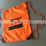 colors sports cheap draw string backpack drawstring bag for promotion polyester drawstring backpack