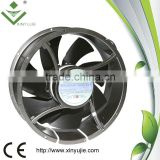 large air flow AC fan 500CFM air cooling fan 254*89mm ac axial fan motor speed controller 220v
