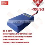 cheap navigation systems for cars motorcylay GPS tracker built-in antenna,cheapest GPS tracker