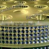 Shanghai wedding ceremony banquet and decoration Lazy Susan spinner table