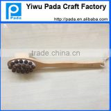 bamboo firber wooden bath brush