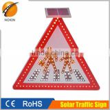 2016 Hot-sale Aluminium, Galvanized sheet solar powered LED traffic sign light                                                                         Quality Choice