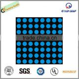 Blue color 3mm 8X8 Dot Matrix LED display led dot matrix display module indoor matrix led display