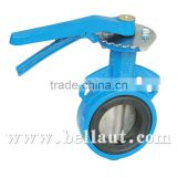 Manual-operated Wafer Butterfly Valve,wafer type butterfly valve,Cast Iron butterfly valve