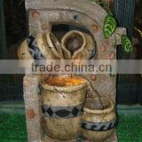 polyresin stone water fountain table water fountain desktop fountain indoor water fountain