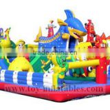 High quality commercial amusement park inflatable jumping castle