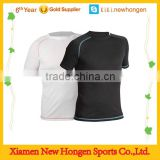 Compression Short Sleeve Sports Fitness Tight Shirt Gym Slim fit compression shirts for men and women