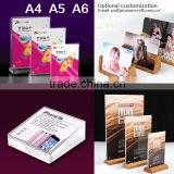 A6.A5.A4 T-shaped Straight edge Clear acrylic strong magnetic table display a4 acrylic display stand