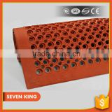 QD 7king Great Wall SBR Rubber Mat Rolls ,anti fatigue floor matting ,rubber tactile indicator mat